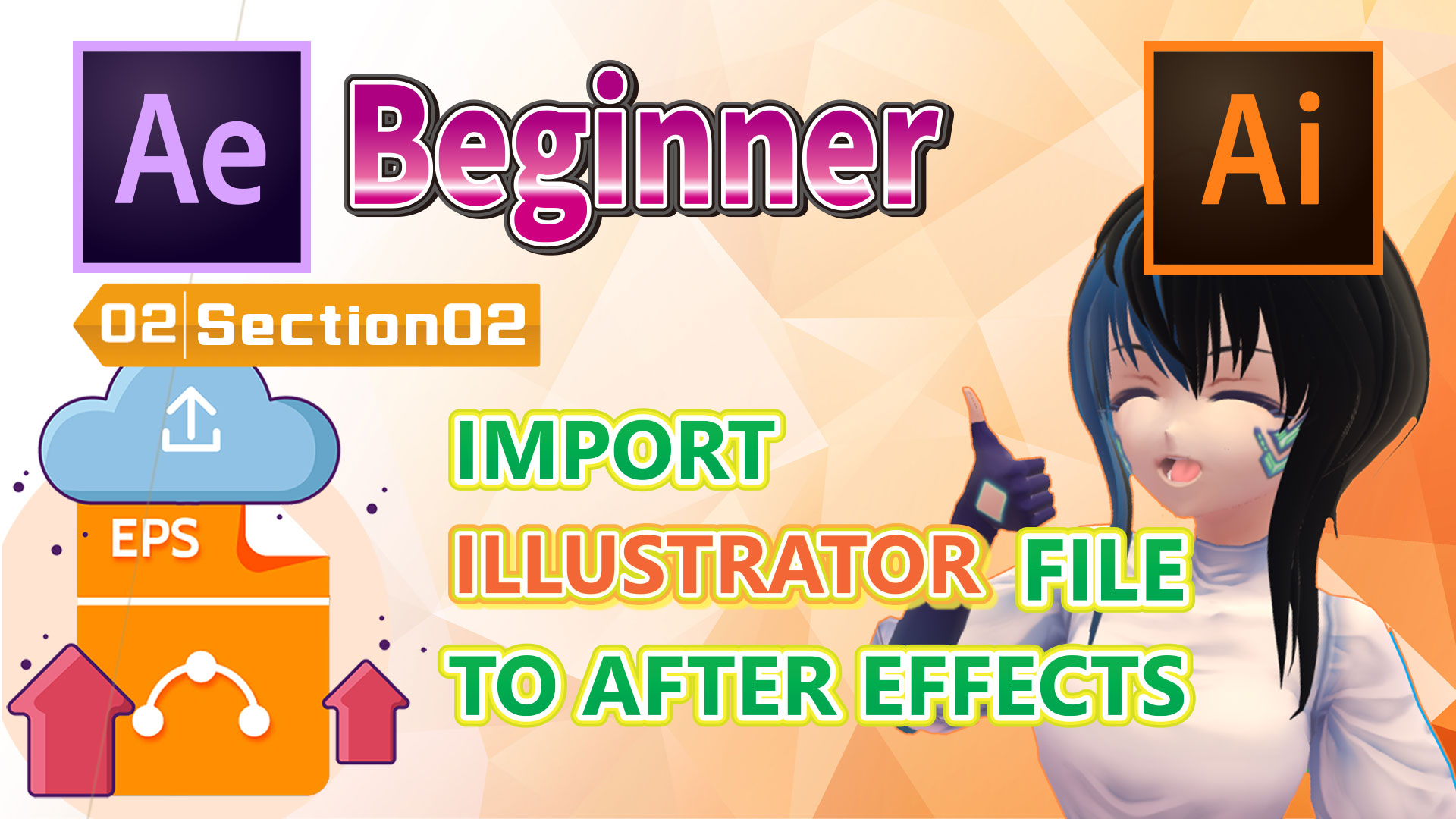 IMPORT ILLUSTRATOR FILE TO AFTER EFFECTS