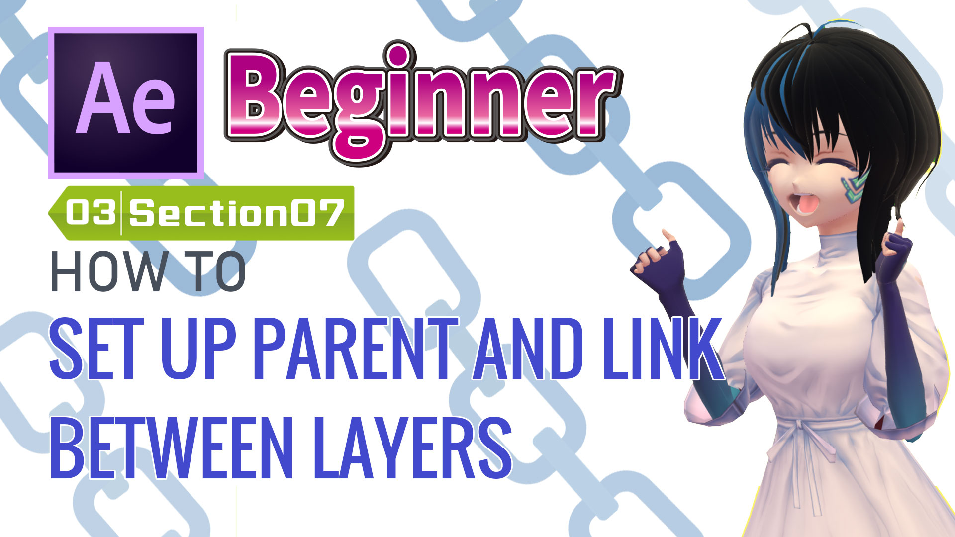 HOW TO SET UP PARENT AND LINK BETWEEN LAYERS