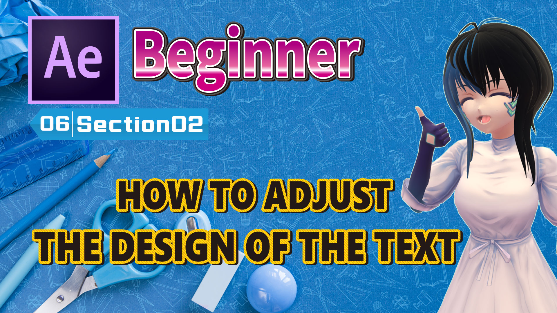 HOW TO ADJUST THE DESIGN OF THE TEXT