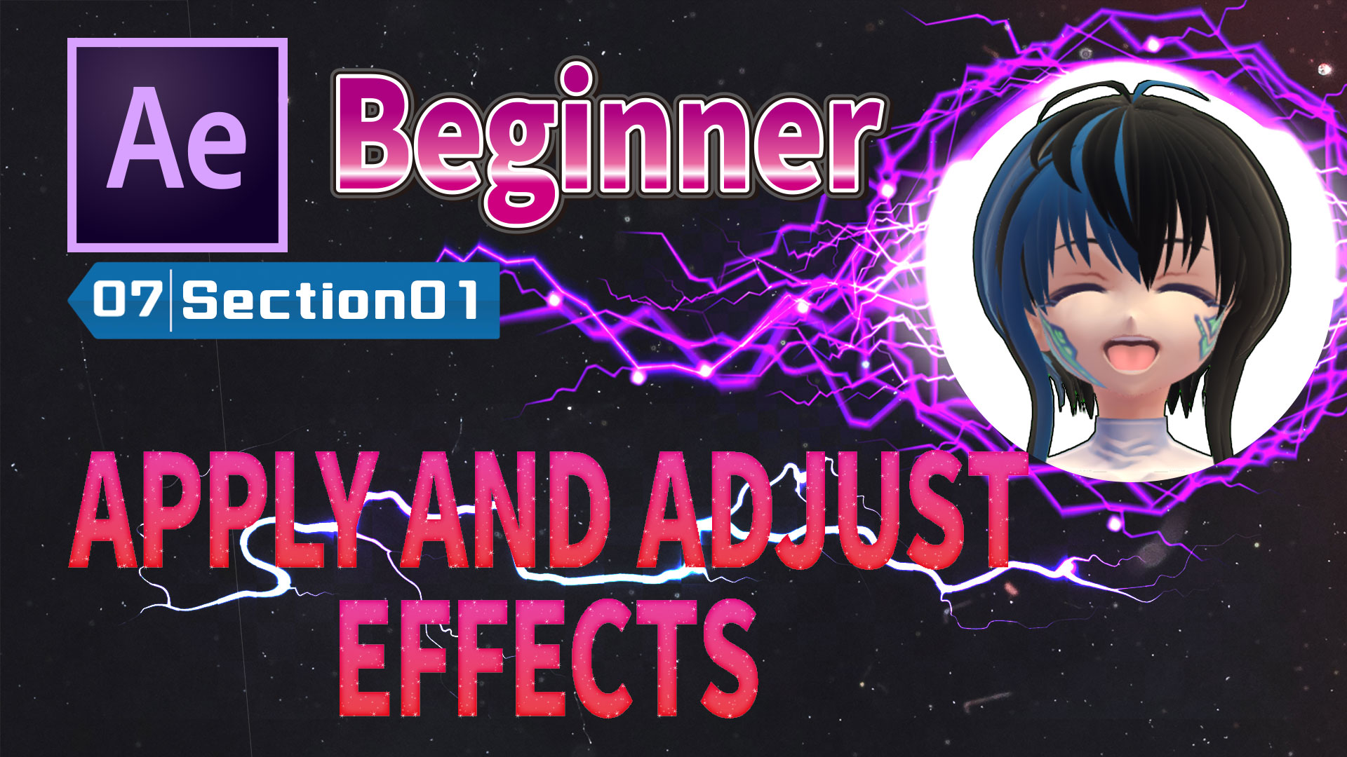 APPLY AND ADJUST EFFECTS