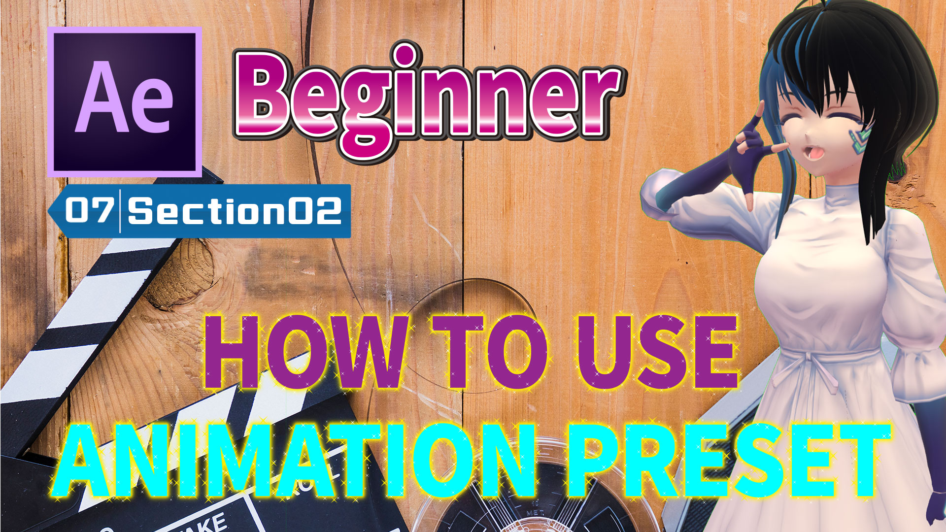 HOW TO USE ANIMATION PRESET