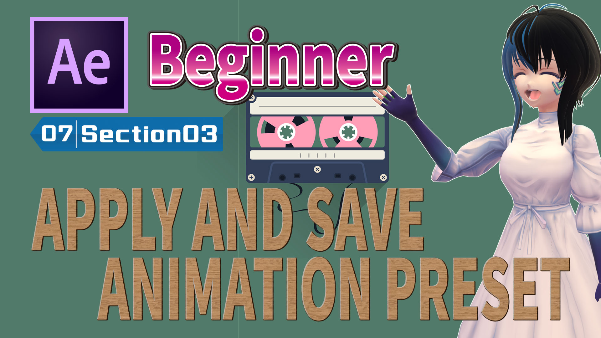 APPLY AND SAVE ANIMATION PRESET