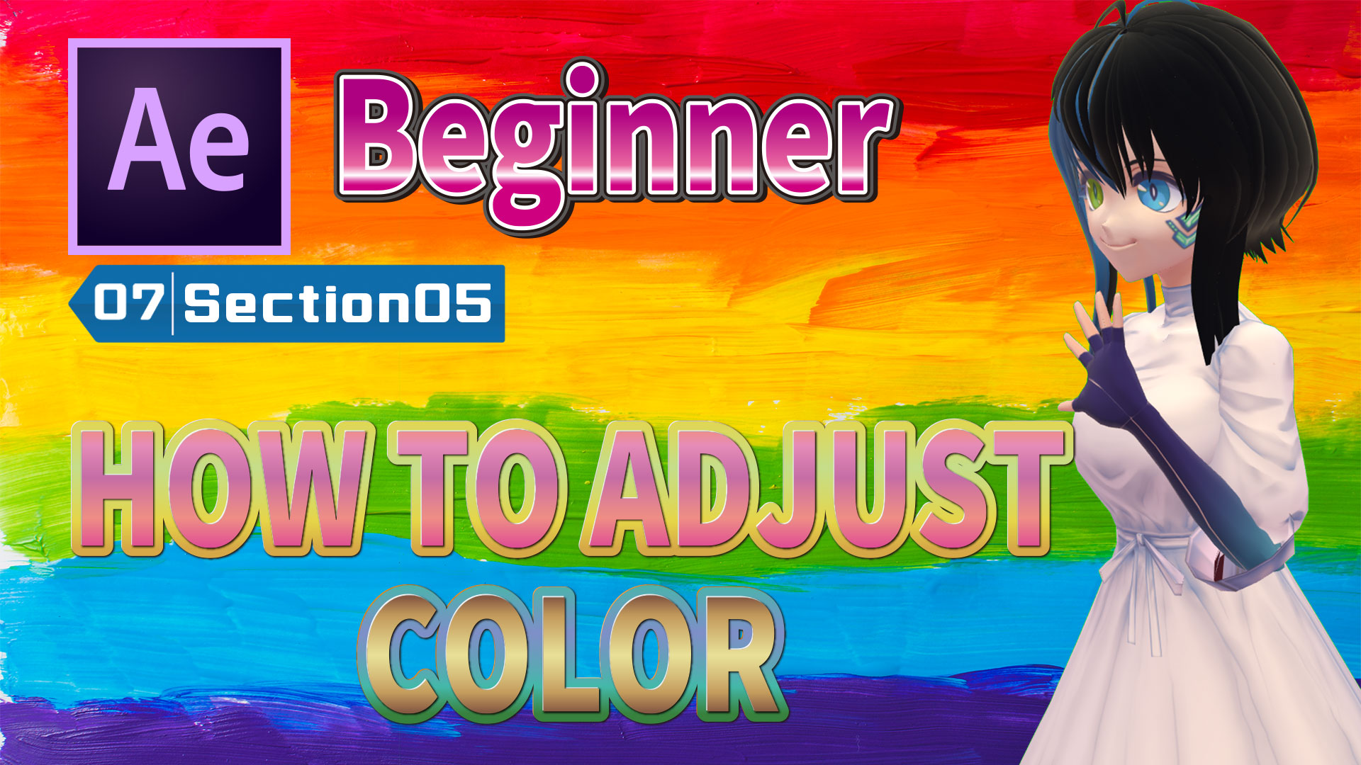 HOW TO ADJUST COLOR