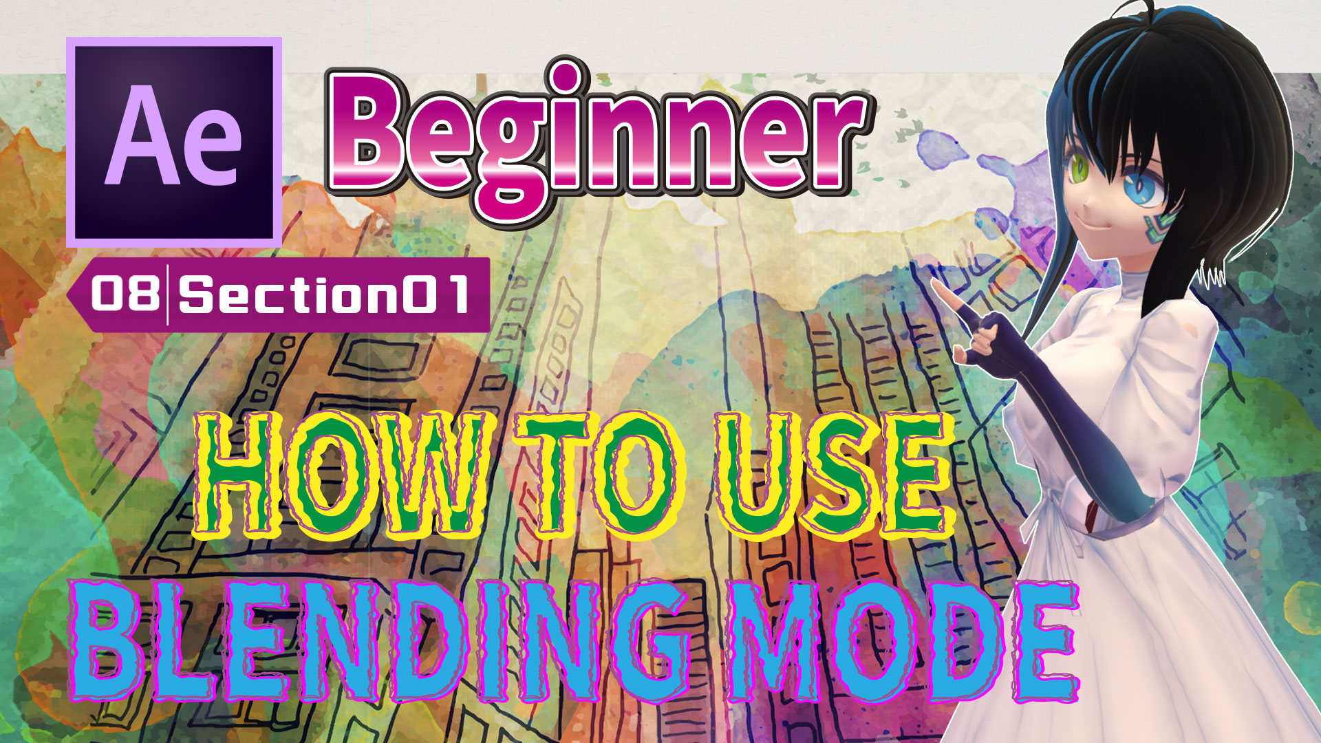 HOW TO USE BLENDING MODE