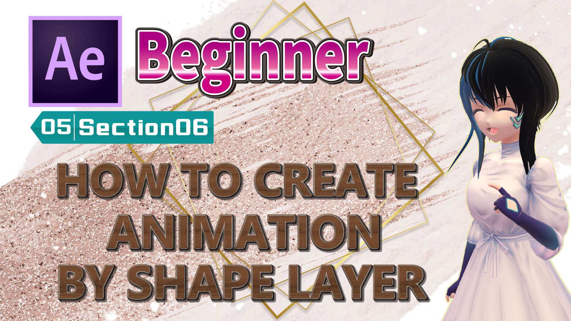 HOW TO CREATE ANIMATION BY SHAPE LAYER