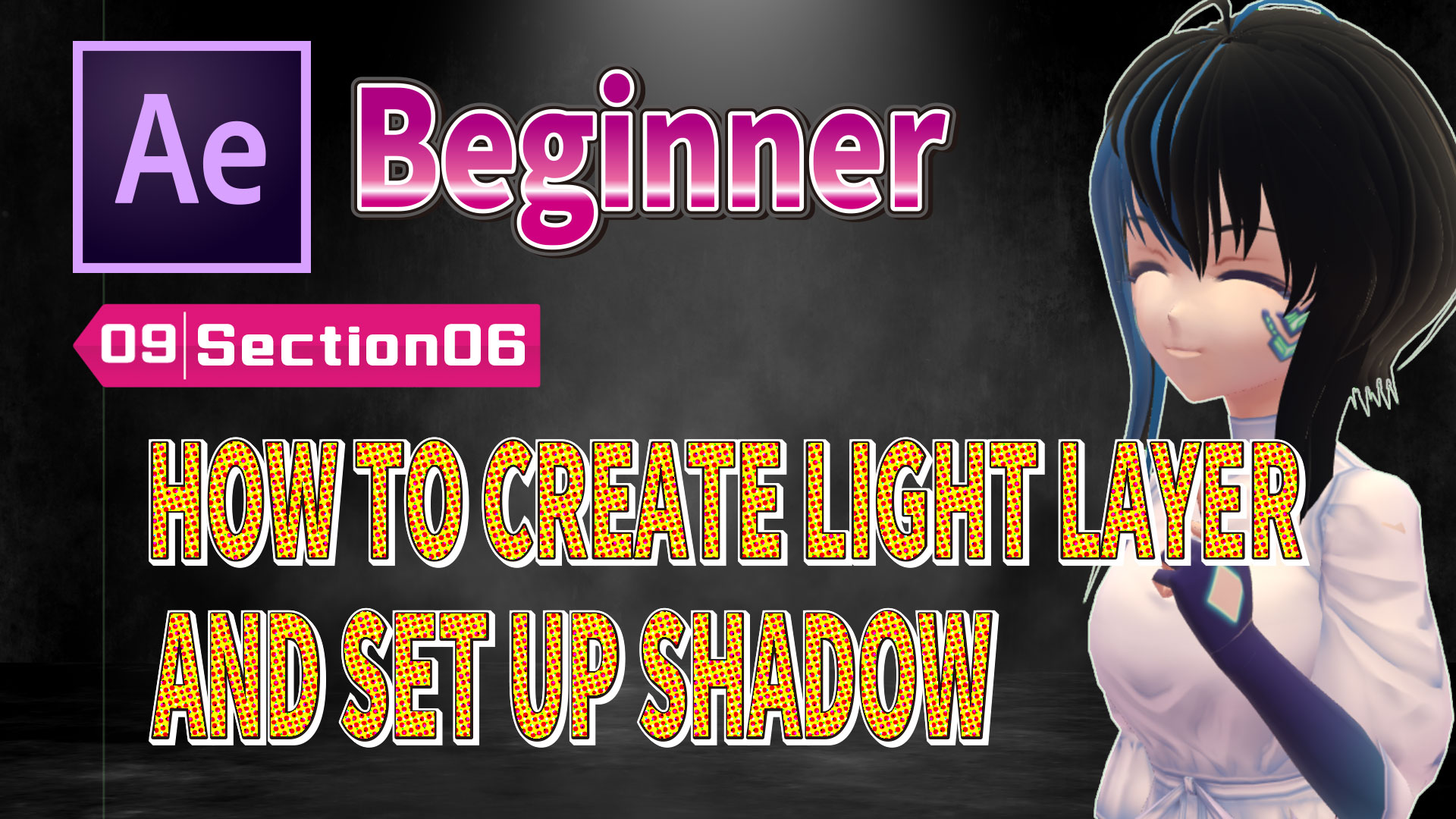 HOW TO CREATE LIGHT LAYER AND SET UP SHADOW