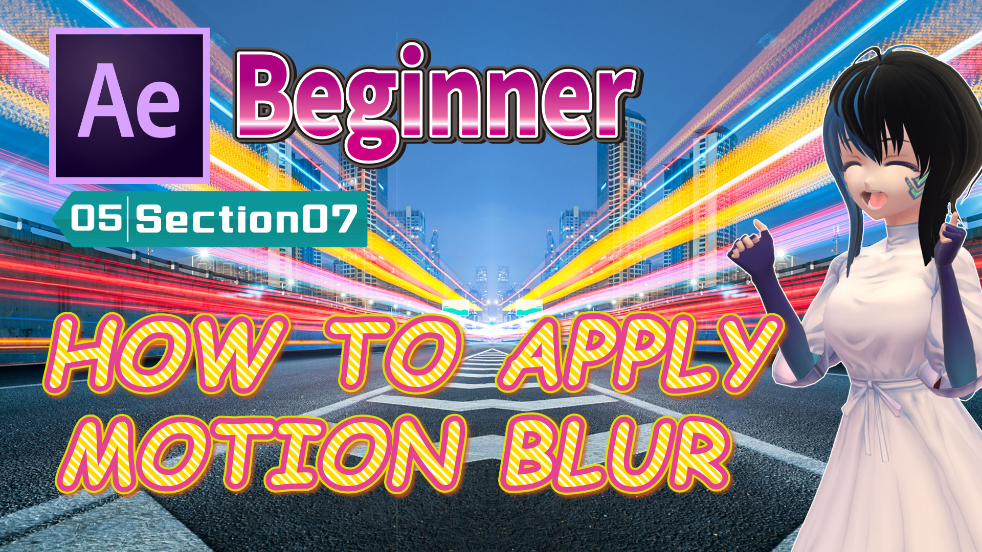 HOW TO APPLY MOTION BLUR