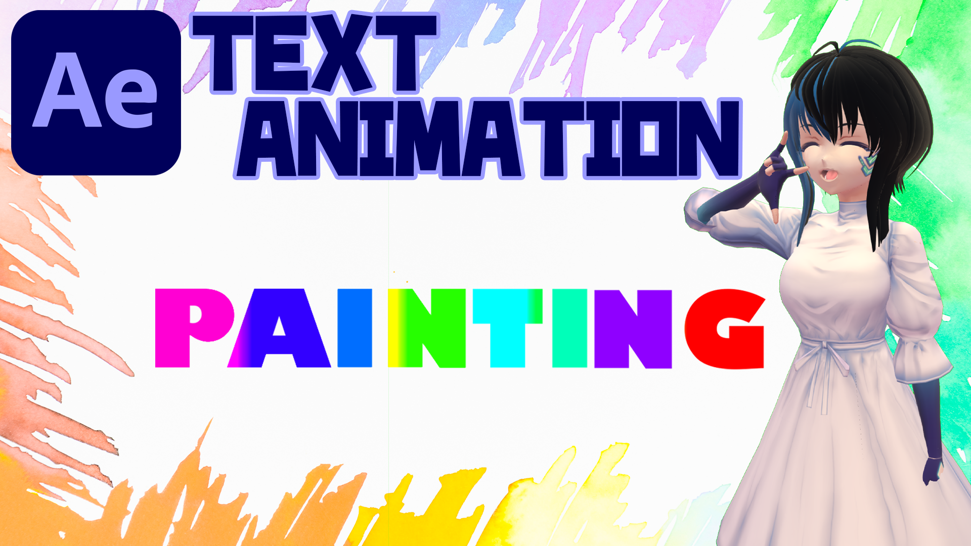 COLOR FULL TEXT ANIMATION