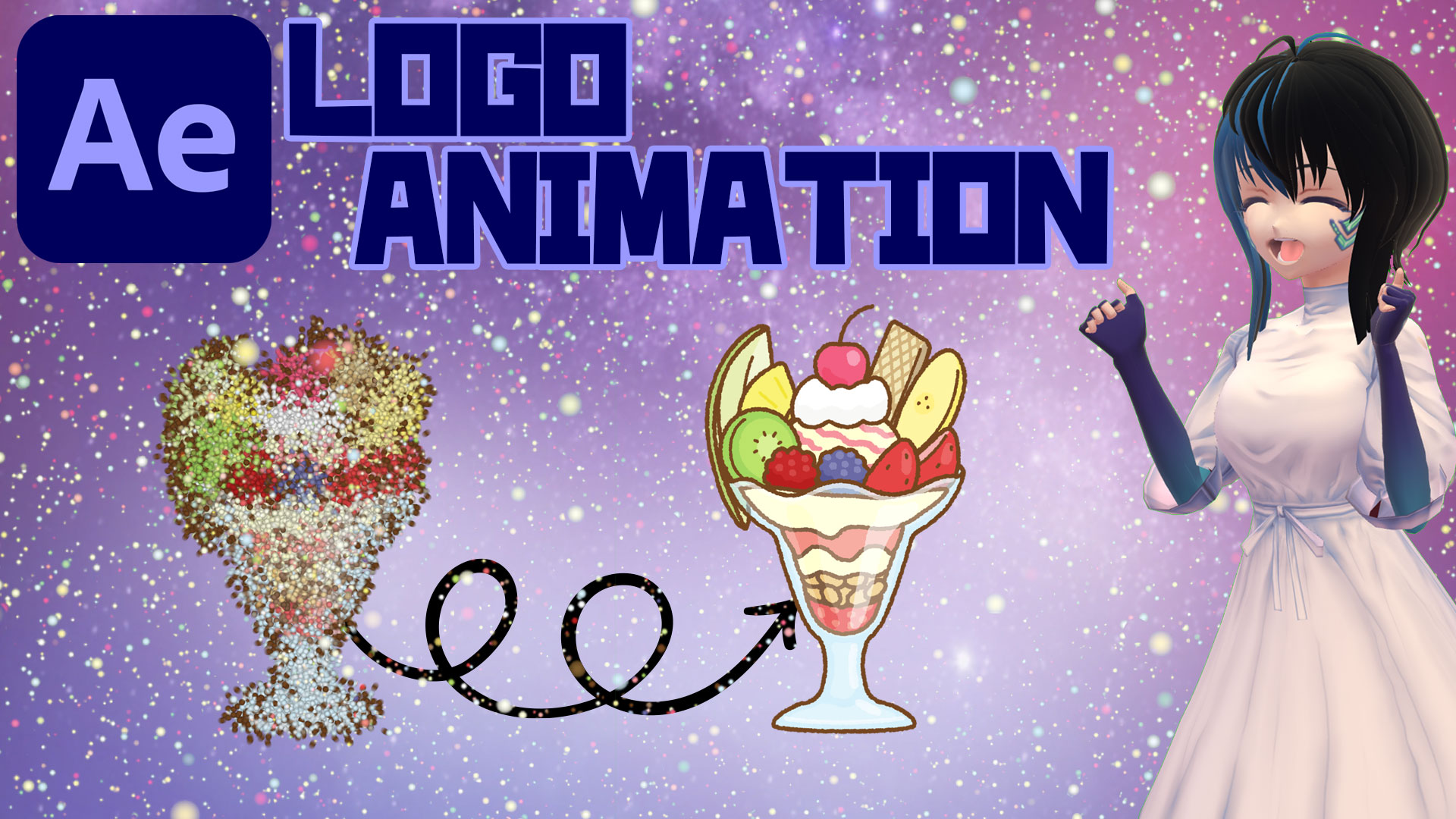 【After Effects】[TEXT ANIMATION] LOGO ANIMATION WITH CC BALL ACTION EFFECT