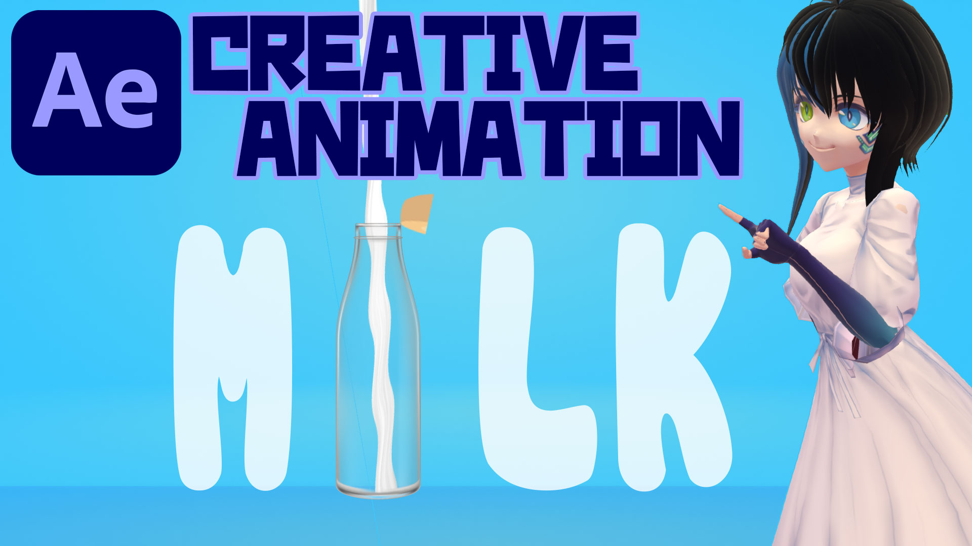 POURING MILK ANIMATION